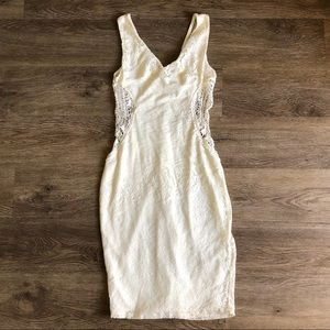 NWOT Charlotte Russe Lace Body Con Dress